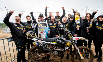 KAY DE WOLF CLAIMS RUNNER-UP FINISH AT MXGP ROUND SIX