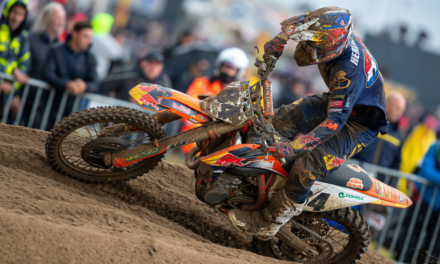 HERLINGS MAKES RETURN TO ACTION AND FINISHES 2ND THROUGH THE LOMMEL SAND IN BELGIUM