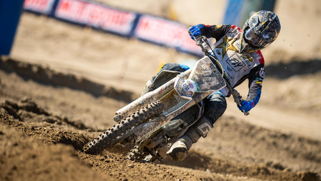 ANOTHER HARD-FOUGHT PERFORMANCE BY RJ HAMPSHIRE AT PRO MOTOCROSS ROUND 11