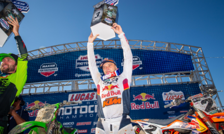 ANOTHER STRONG PODIUM FINISH FOR COOPER WEBB AT FOX RACEWAY II NATIONAL