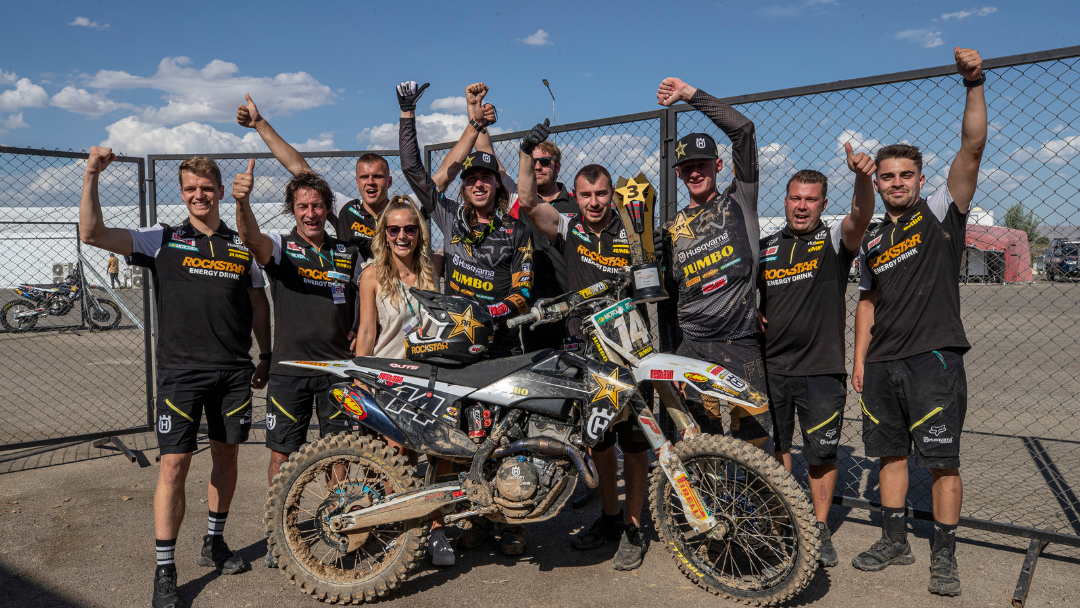 JED BEATON EARNS MX2 PODIUM RESULT IN TURKEY