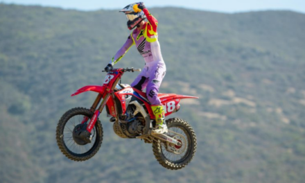 Second Straight Moto Sweep for Lawrence, at Fox Raceway National