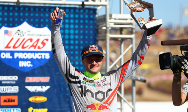 RED BULL KTM FACTORY RACING TEAM FINISHES STRONG AT AMA PRO MOTOCROSS FINALE