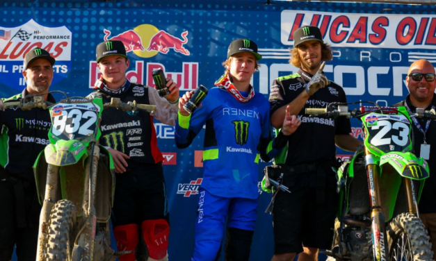 Monster Energy® Kawasaki Team Green™ Takes Top Honors in Second Consecutive Scouting Moto Combine