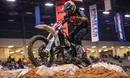 HAAKER DELIVERS SECOND-STRAIGHT ENDUROCROSS VICTORY AT ROUND 2