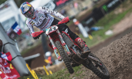 PAULS JONASS CONTINUES IMPRESSIVE FORM WITH SIXTH AT MXGP OF FRANCE