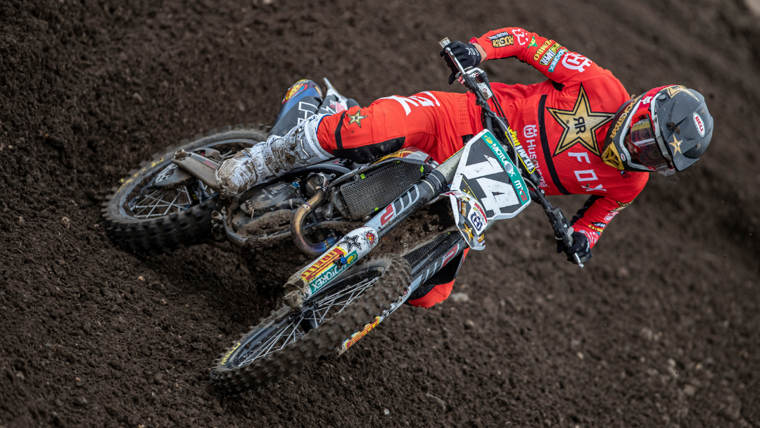STRONG RESULTS FOR ROCKSTAR ENERGY HUSQVARNA'S MX2 DUO IN GERMANY