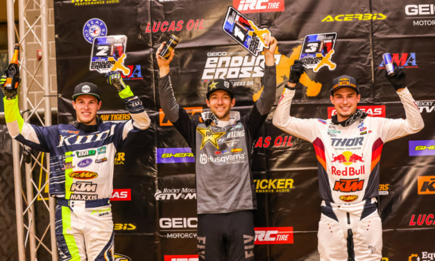 Colton Haaker Takes Amarillo EnduroCross Win – Cooper Abbott and Trystan Hart round out the podium