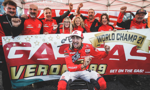 ANDREA VERONA WINS IN FRANCE TO SECURE GASGAS THE 2021 ENDURO1 WORLD CHAMPIONSHIP